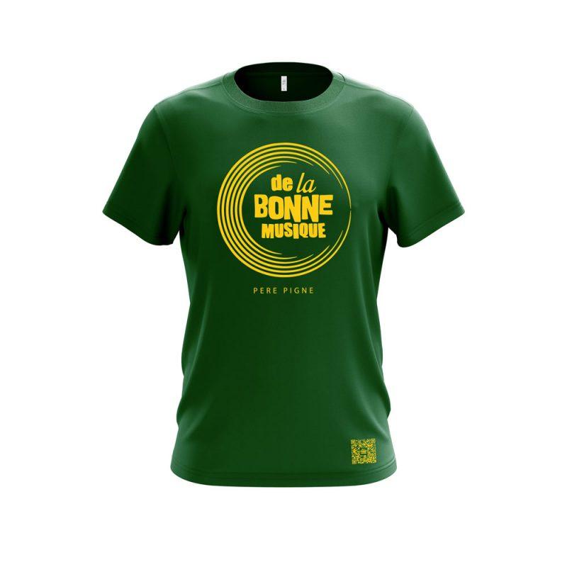 t-shirt-de-la-bonne-musique-vert